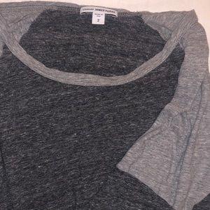 James Perse Henley Long Sleeve T Shirt